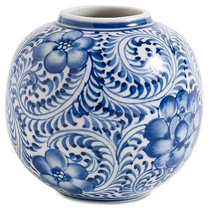Amazon Boconcept Hand Painted Stunning Blue And White Unika