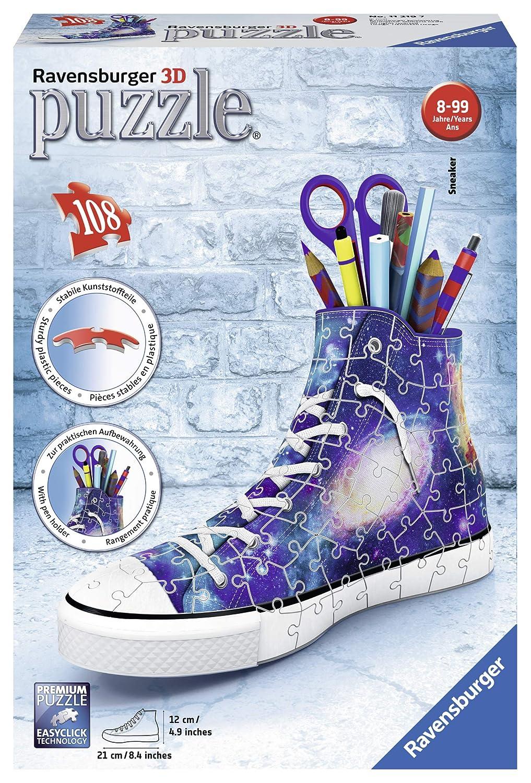 Sneaker - Galaxy Design 108 Piece 3D Puzzle