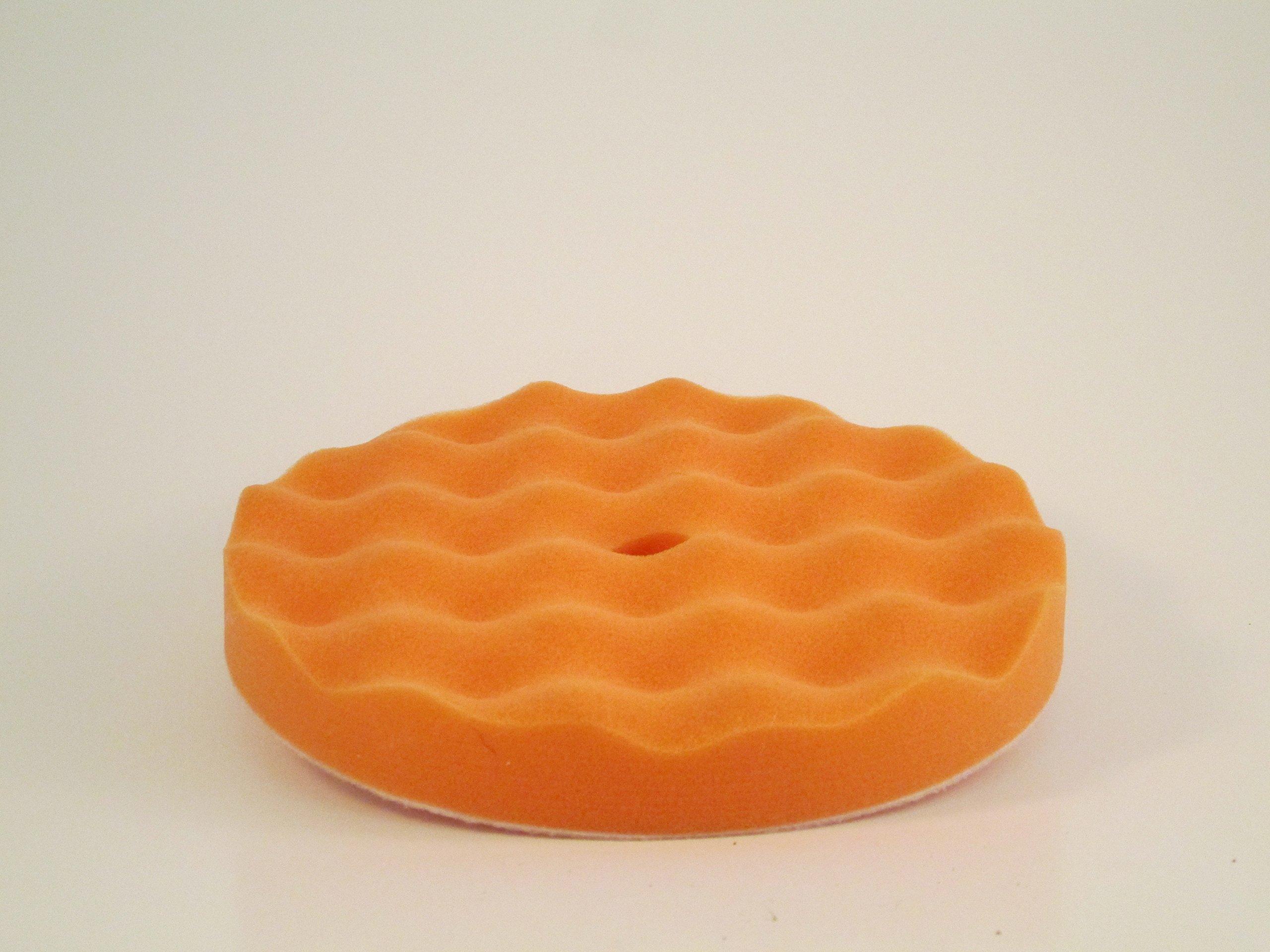 Orange Foam Waffle For Backing Pads, 7-8'', Orange