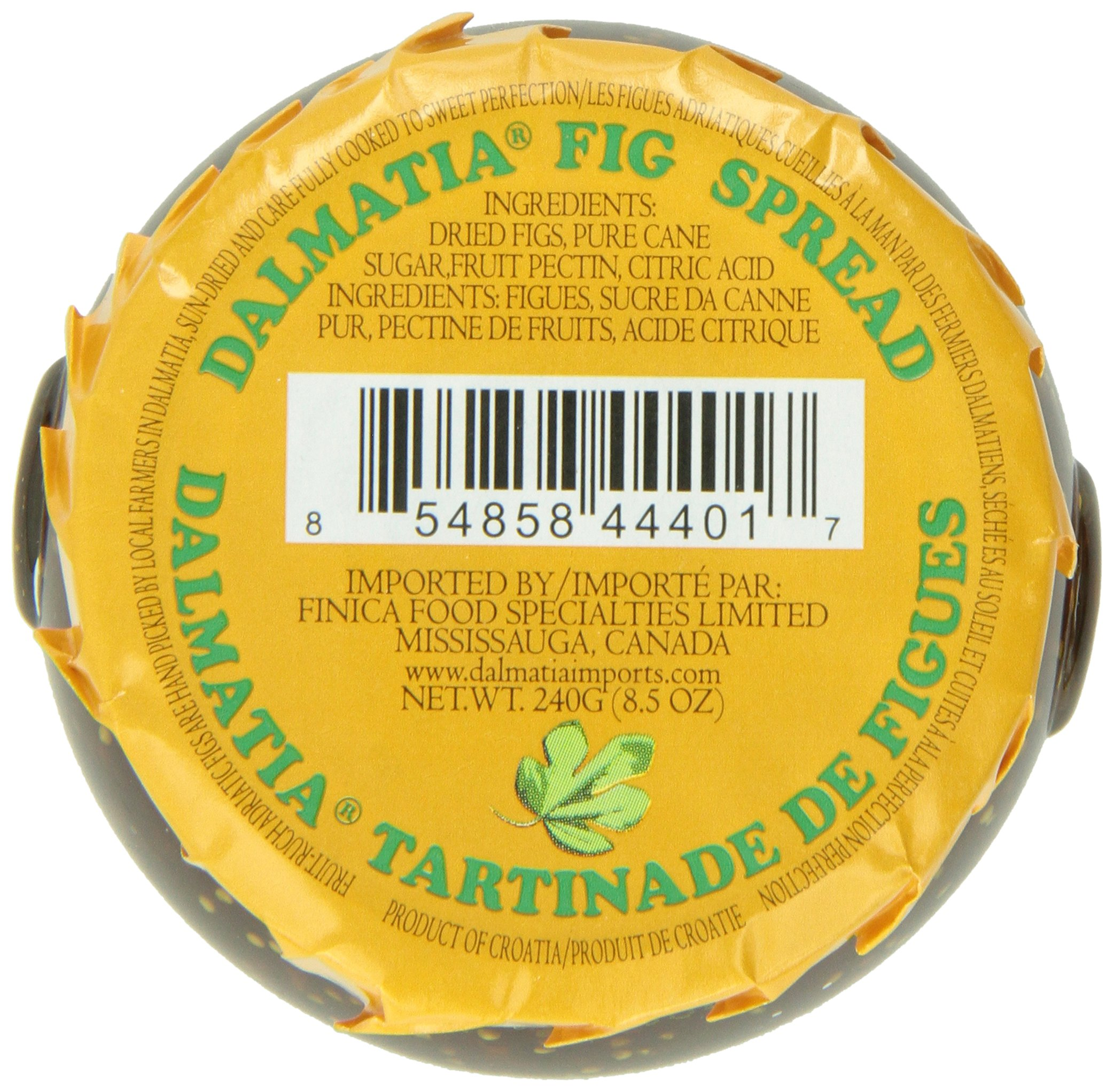 Dalmatia Fig Spread, 8.5 Ounce by Dalmatia