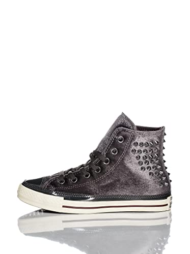 f4faa0813660 Converse Men s Canvas Chuck Taylor All Star Hi Velvet Stud Spike Shoes 8 B(M