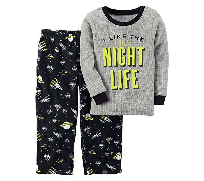 82553463a3 Amazon.com  Carter s Boys  12M-12 2 Piece Glow-in-The-Dark Cotton ...