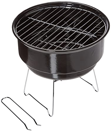 TDYNASTY DESIGN TD Design Portable Charcoal Grill, Tabletop Grill with Cooler Bag, 10-Inch
