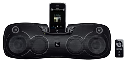 logitech portable speakers. logitech s715i portable 30-pin ipod/iphone speaker dock (discontinued by manufacturer) speakers t