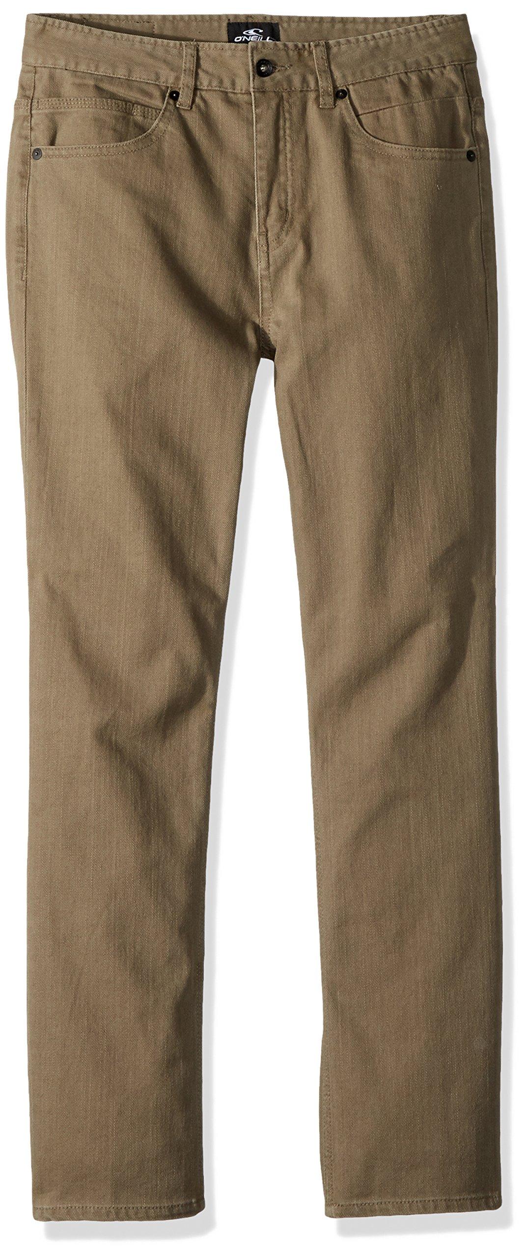 O'Neill Boys' Big Townes Modern Denim Jean, Dark Army, 27
