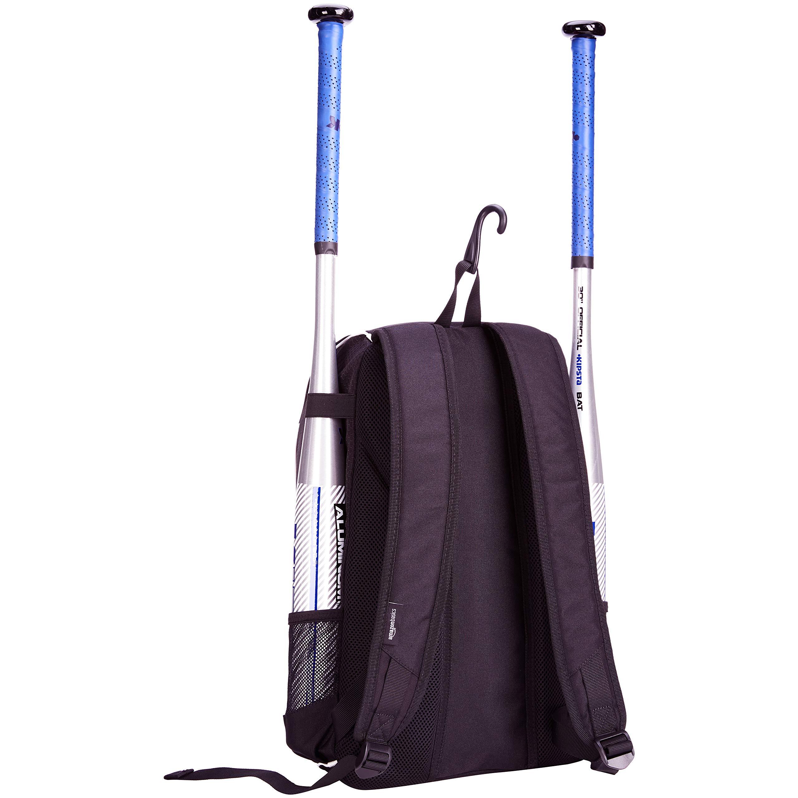 AmazonBasics Youth Baseball Equipment Backpack, Pink by AmazonBasics (Image #3)