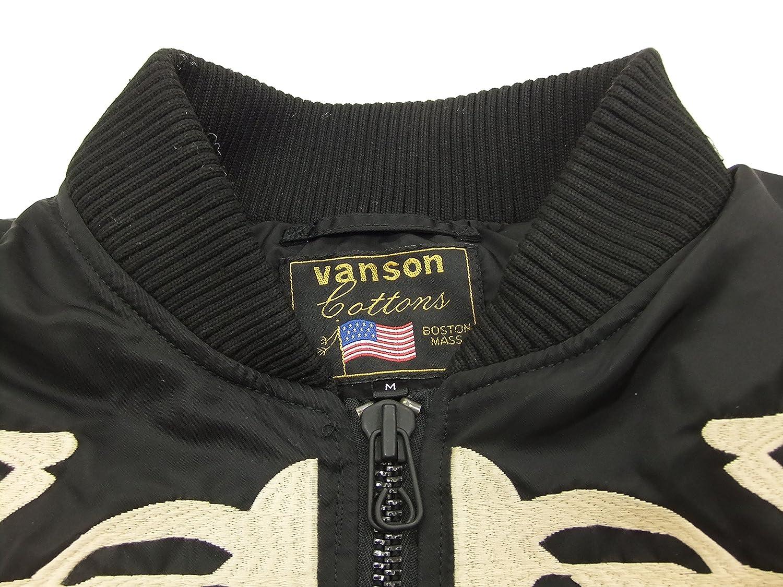 VANSON Bone MA-1 Flight Jacket NVJK-604 Mens Bomber Jacket