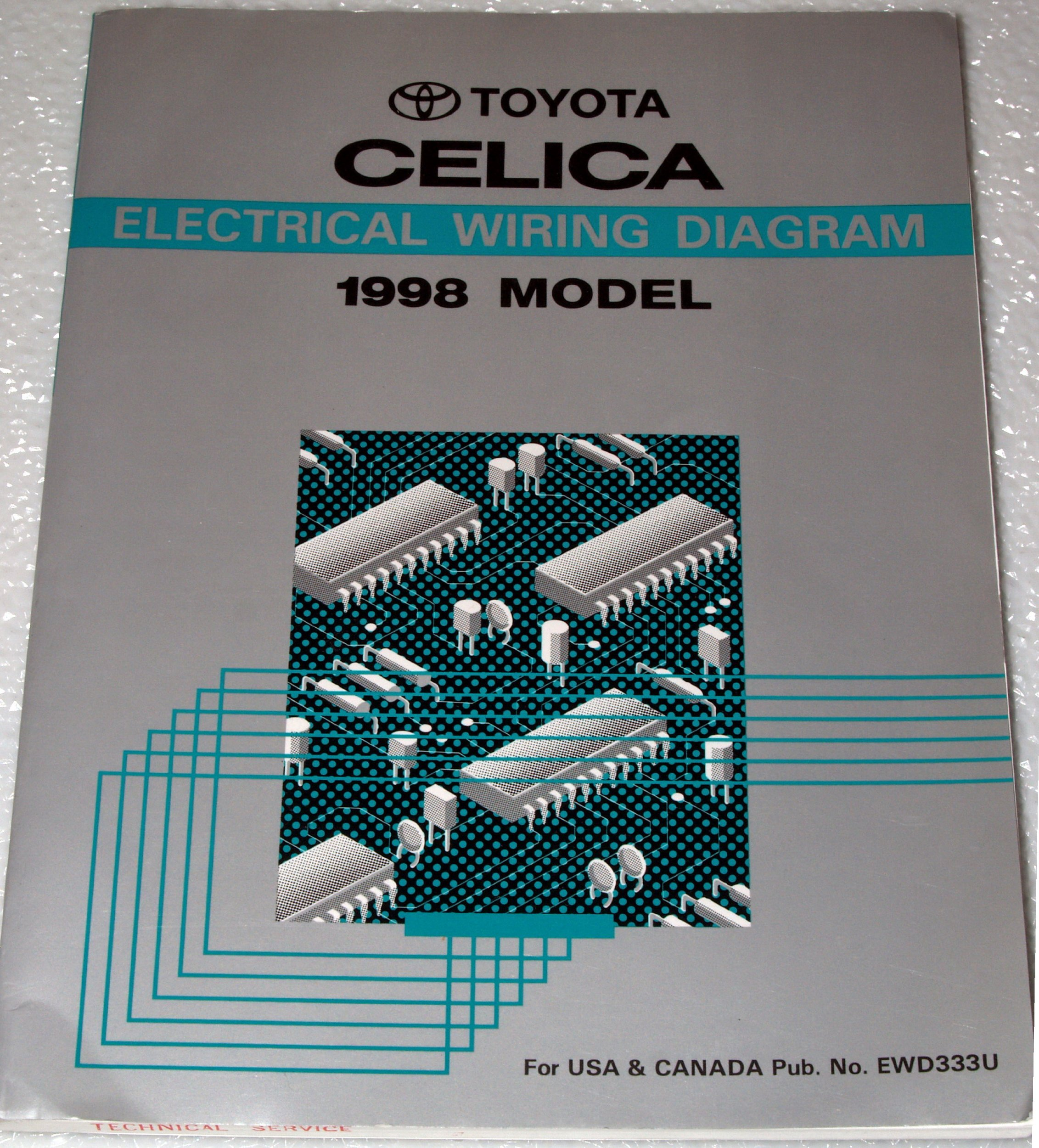 1992 Toyota Celica Electrical Wiring Diagrams (AT180, ST184, ST185 Series):  Toyota Motor Corporation: Amazon.com: BooksAmazon.com