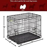 "Dog Crate | MidWest ICrate 24"" Double Door"
