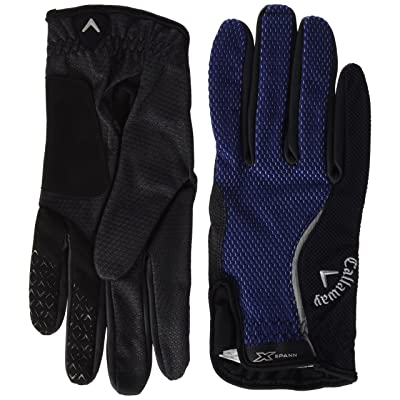 2018 Callaway X-Spann All-Weather Performance Mens Compression Fit Golf Gloves-PAIR