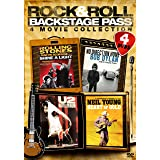Rock & Roll Backstage Pass: Four-Movie Collection (U2: Rattle & Hum / Bob Dylan: No Direction Home / Rolling Stones: Shine a