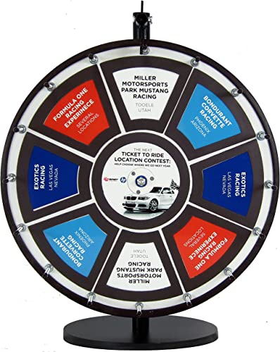 18in Insert Your Own Graphics Dry Erase Prize Wheel