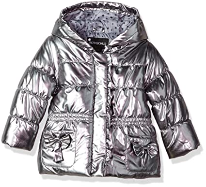 1e439f1b194 Amazon.com: Rothschild Toddler Girls Metallic Jacket: Clothing