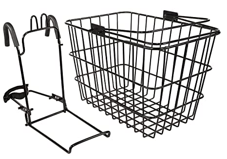 Amazon Com Capstone Large Wire Basket With Quick Release Sports