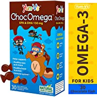 YumVs 30 Count ChocOmega Orange Flavored Milk Chocolate