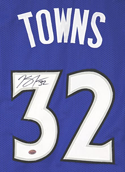 release date: 5a35d 2e013 Karl-Anthony Towns Minnesota Timberwolves Signed Autographed ...