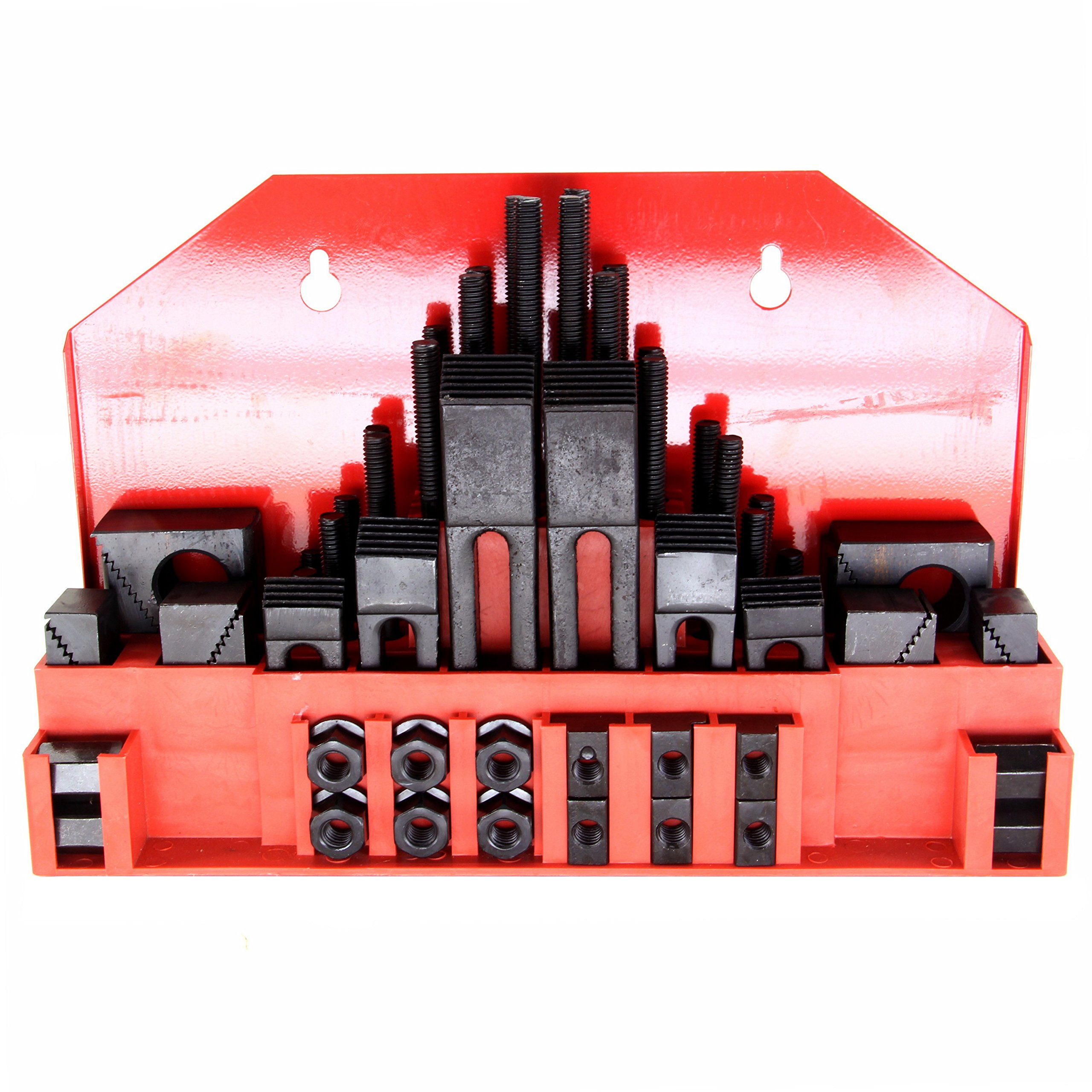 HFS (Tm) 52pc 11/16'''' Slot ,5/8''-11 Stud HOLD DOWN CLAMP CLAMPING SET KIT BRIDGEPORT MILL