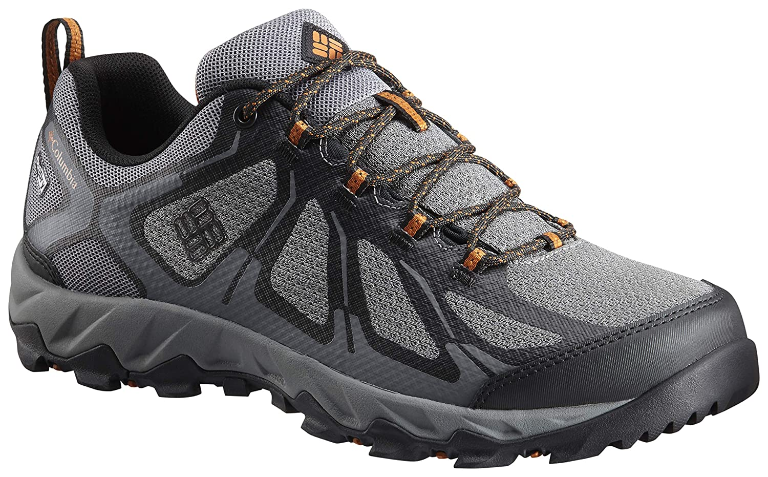 Grey (Ti Grey Steel, Bright Copper 033) Columbia Men's Peakfreak XCRSN Ii Xcel- Low Outdry Rise Hiking shoes