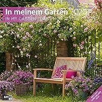 In meinem Garten 2020, Wandkalender / Broschürenkalender im Hochformat (aufgeklappt 30x60 cm) - Geschenk-Kalender mit Monatskalendarium zum Eintragen