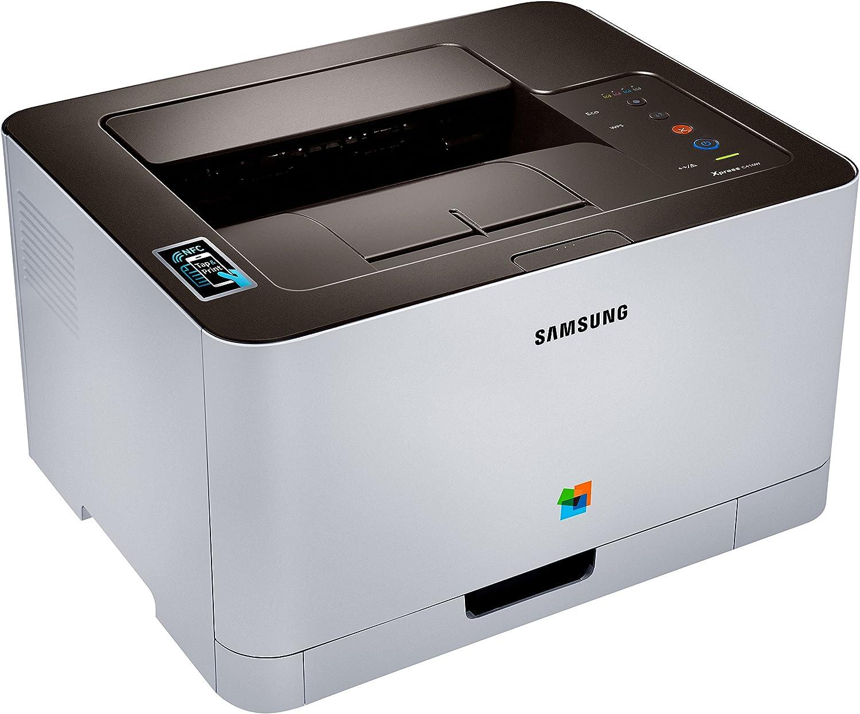 Samsung SL-C410W - Impresora láser (2400 x 600 dpi, 20000 páginas ...