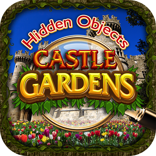 Hidden Objects - Castle Gardens & Object Time Puzzle Seek Find Differences Game -