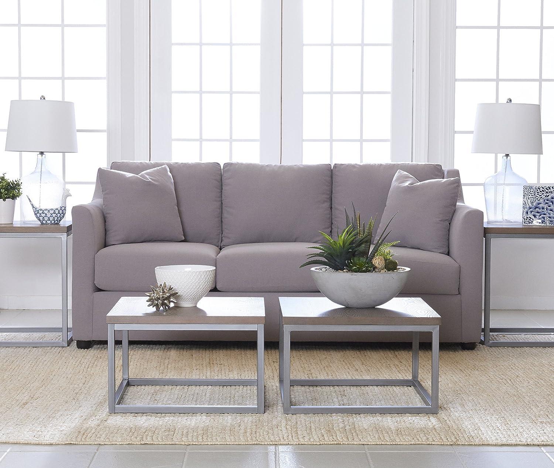Amazon Com Klaussner Furniture Devynn Sofa With Throw Pillows 80