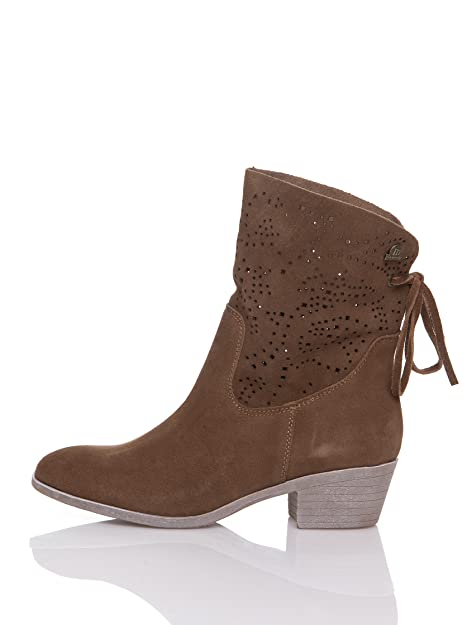 MTNG Originals Botín - Botines, color serraje tan 90241, talla 39: Amazon.es: Zapatos y complementos