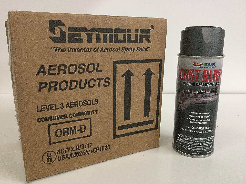 Cast Iron Paint >> Ie Parts Group Seymour Cast Blast Professional Grade Cast Iron Paint Case Lot Of 6 Cans