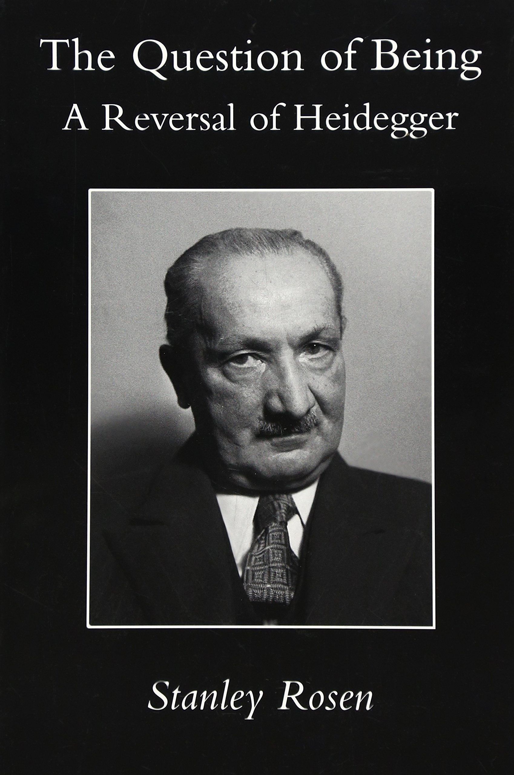 Download Question Of Being: Reversal Of Heidegger pdf