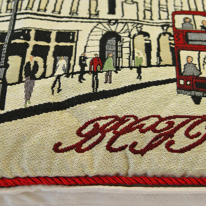 "Cushion Cover Tapestry 18x18/"" 45x45cm Regent Street London"