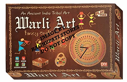Buy warli art game for kids craft kits do it yourself drawing warli art game for kids craft kits do it yourself drawing painting kit solutioingenieria Image collections