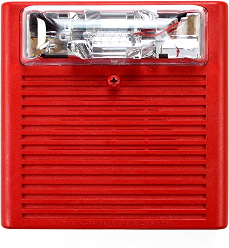 COOPER WHEELOCK NS-24MCW-FR 24 VDC SELECTABLE 15 30 75 110 cd, RED