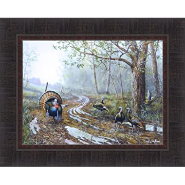 Spring Fever by Jim Hansel 17x21 Turkey Barn Framed Art Print Wall Décor Picture