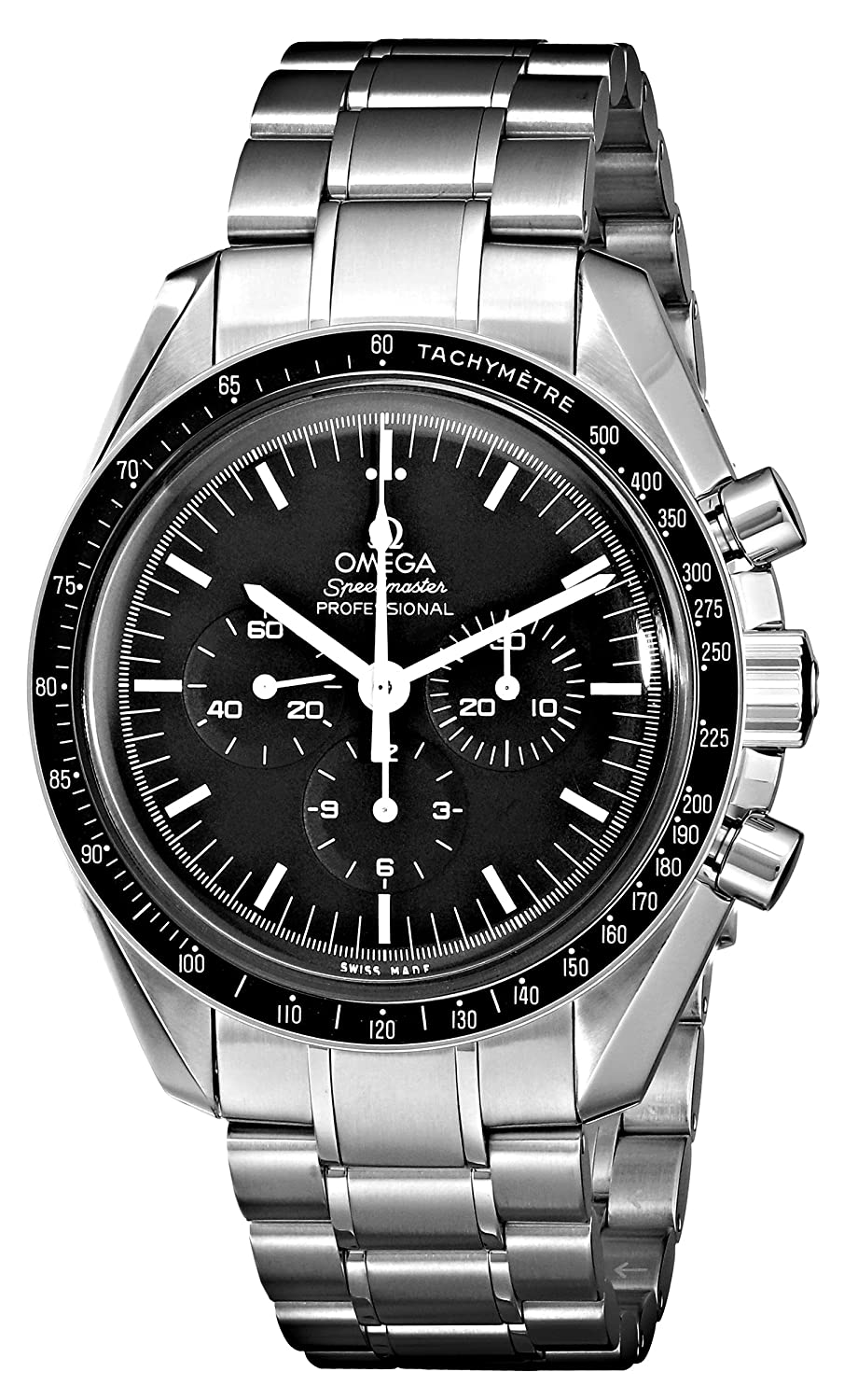 0c20c47df563 Amazon.com  Omega Men s 3570.50.00 Speedmaster Professional Watch with  Stainless Steel Bracelet  Omega  Watches