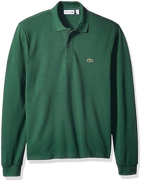 a13d4464 Lacoste Men's Short Sleeve Pique Classic Fit Polo Shirt, L1312 ...