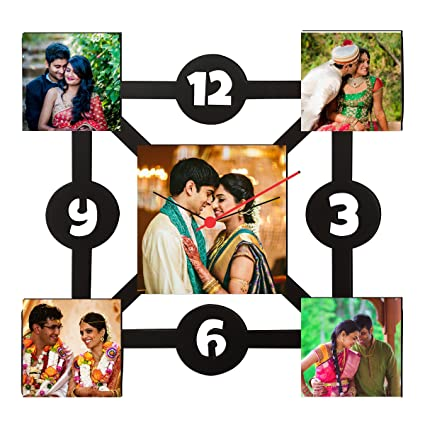 dream gifts love couple collage frame clock return gift gift marriage gift