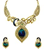 Zaveri Pearls Beautiful Peacock Necklace Set - ZPFK5486