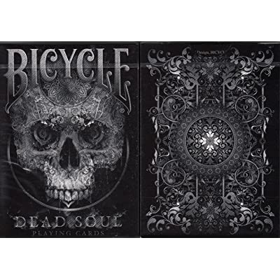 Bicycle Dead Soul Playing Cards Poker Size Deck USPCC Custom Limited Edition: Sports & Outdoors