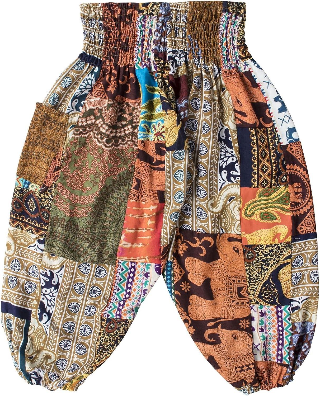 Lofbaz Kids Patch Boho Pants