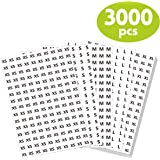 """3000 PCs 3/4"""" Clothing Size Round Sticker Labels in 5 Sizes (XS, S, M, L, XL)"""