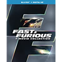 Deals on Fast & Furious 7-Movie Collection (Blu-ray + Digital HD)