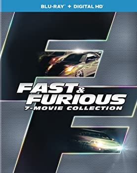 Fast & Furious 7-Movie Collection on Blu-Ray