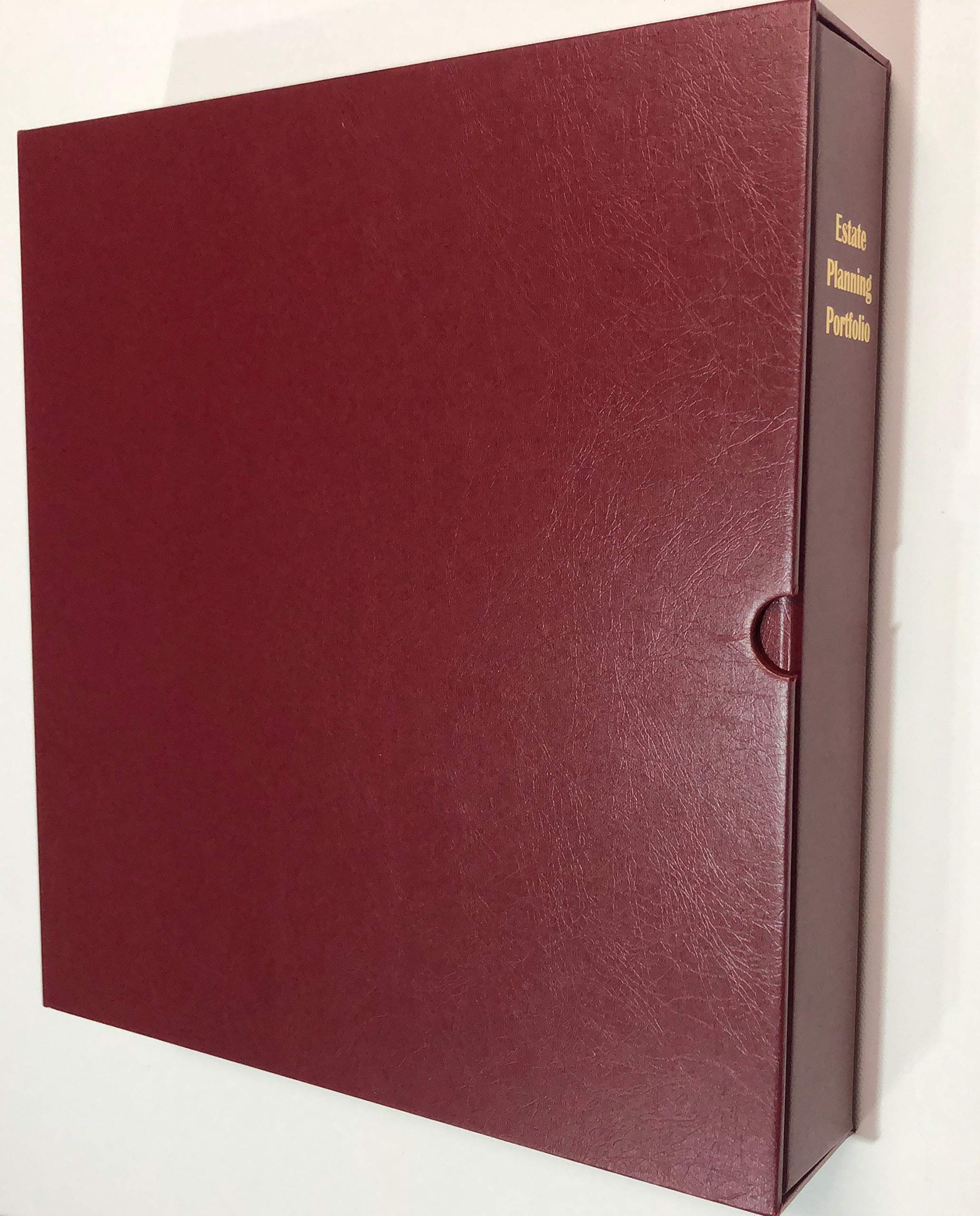 Estate Planning Portfolio Binder with Tabs and Slipcase by Corp Paper Products