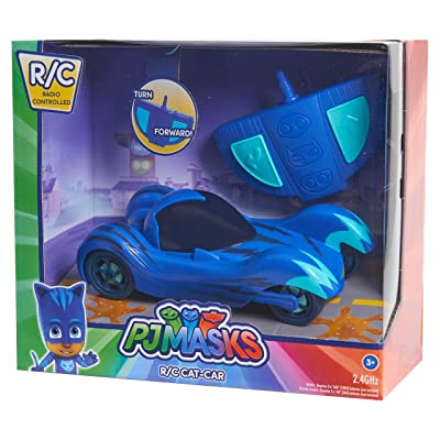 PJ Masks RC Cat-Car, Blue: Toys & Games