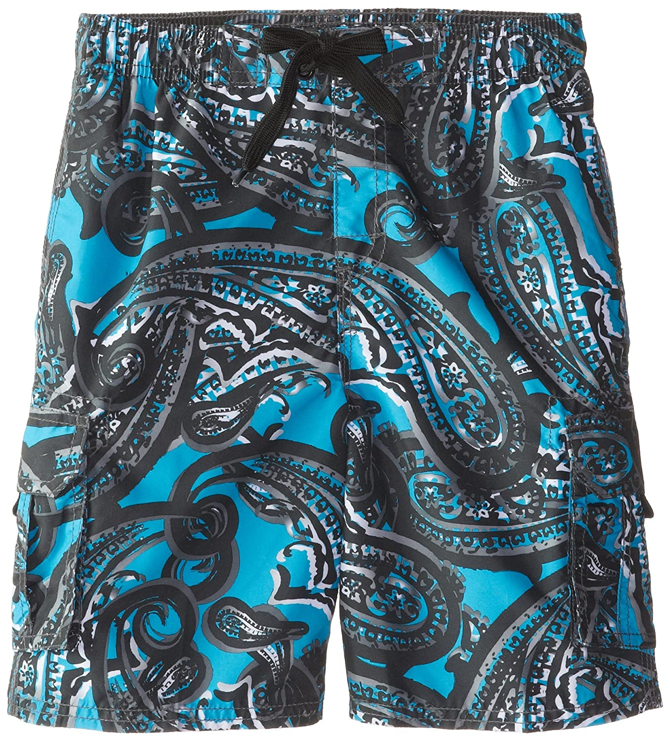 Kanu Surf Little Boys' Liberty Swim Trunks Blue Medium/5/6 Kanu Surf Boys 8-20 4331135651