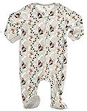 Leveret Kids Fleece Baby Boys Footed Pajamas