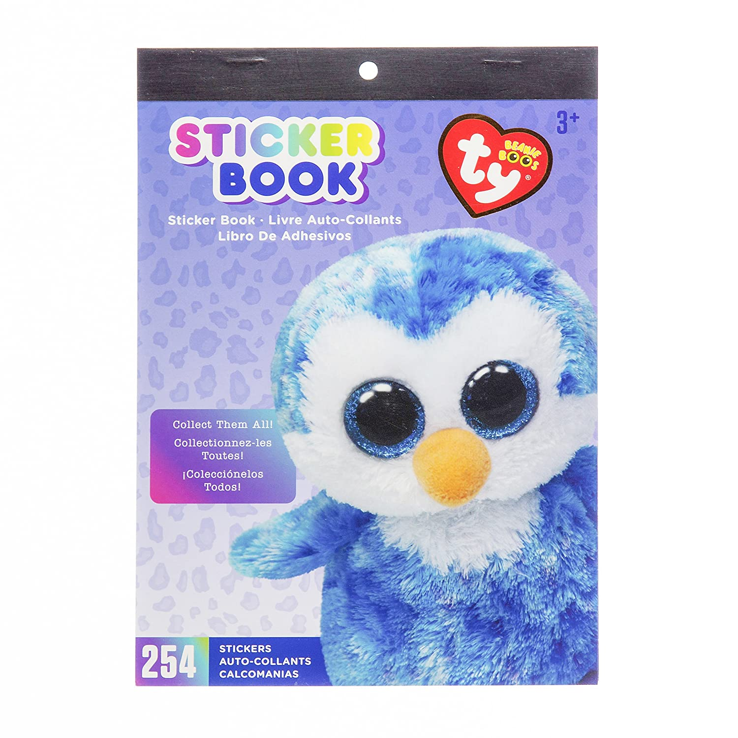 Amazon.com  Darice TY Beanie Boo Ice Cube Penguin Sticker Book c510ccbec1d