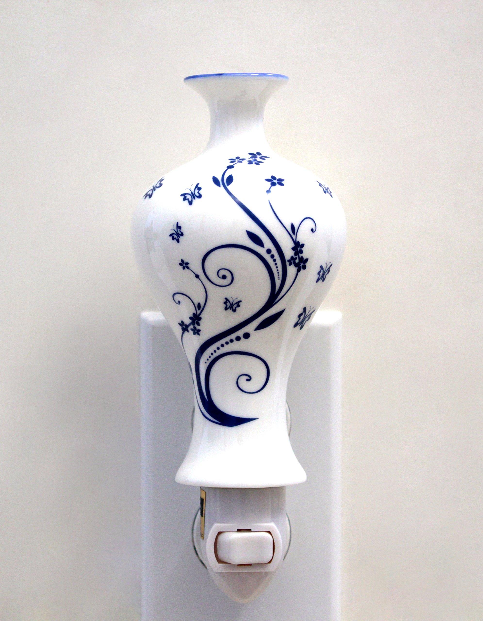 Luxury Elegant Japanese ceramic vase modern style nightlights, Night Light,Night Lamp,Decotations Night Lights By C&H