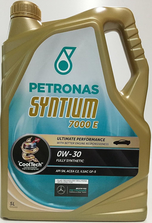 Aceite de Motor PETRONAS SYNTIUM 7000 E 0W-30 5 lts: Amazon.es: Coche y moto