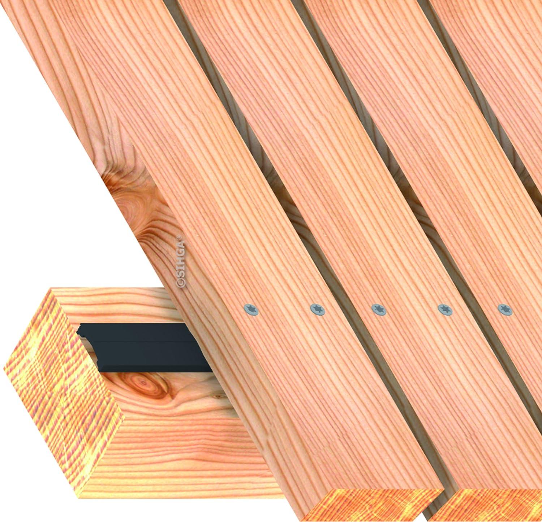 /kompefix/® II KF 20/x 4,5/LFM/ /Montage dune terrasse/ /constructif Protection du bois SIHGA/
